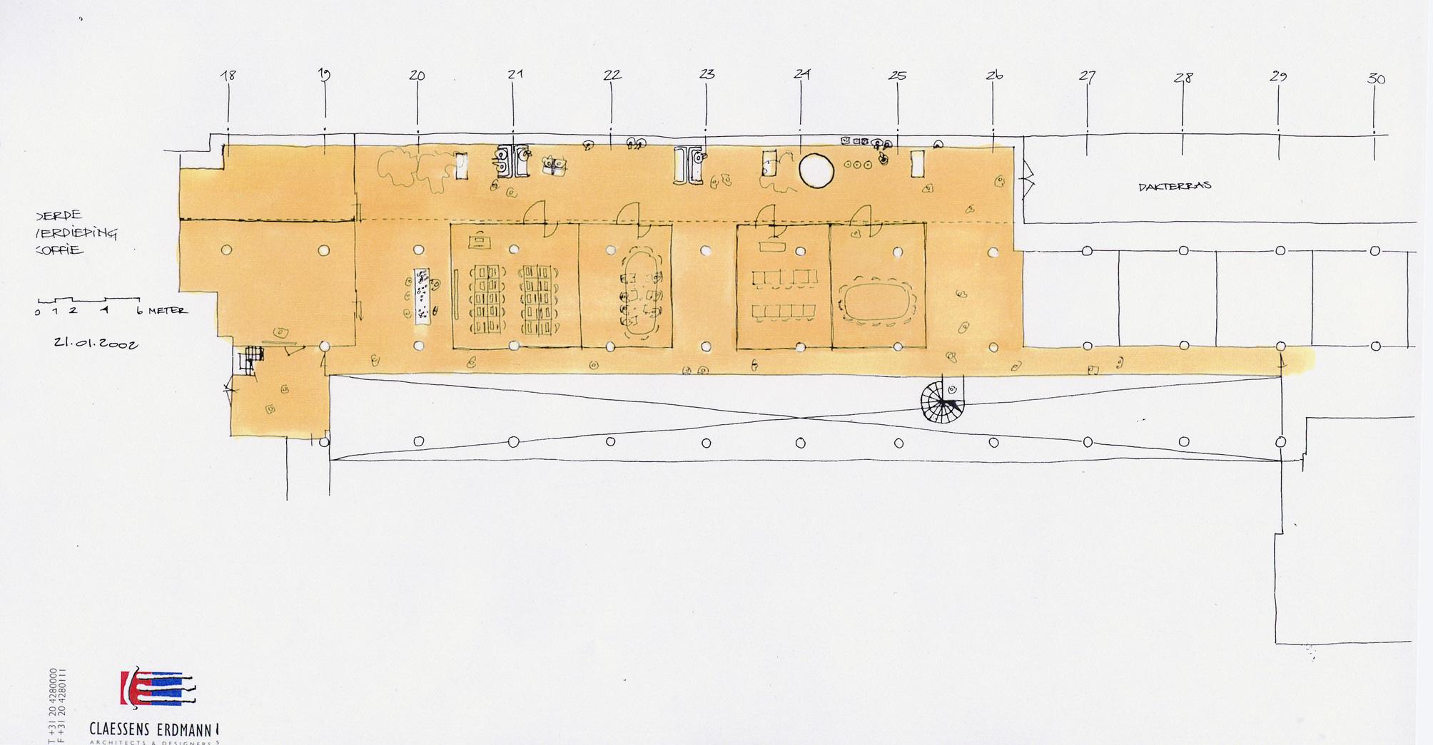 Van nelle ontwerp fabriek plattegrond branderij 3 for Ontwerp plattegrond