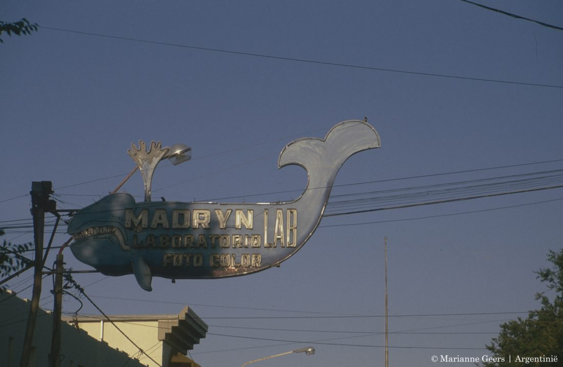 argentinie,puerto madryn, walvis,uithangbord